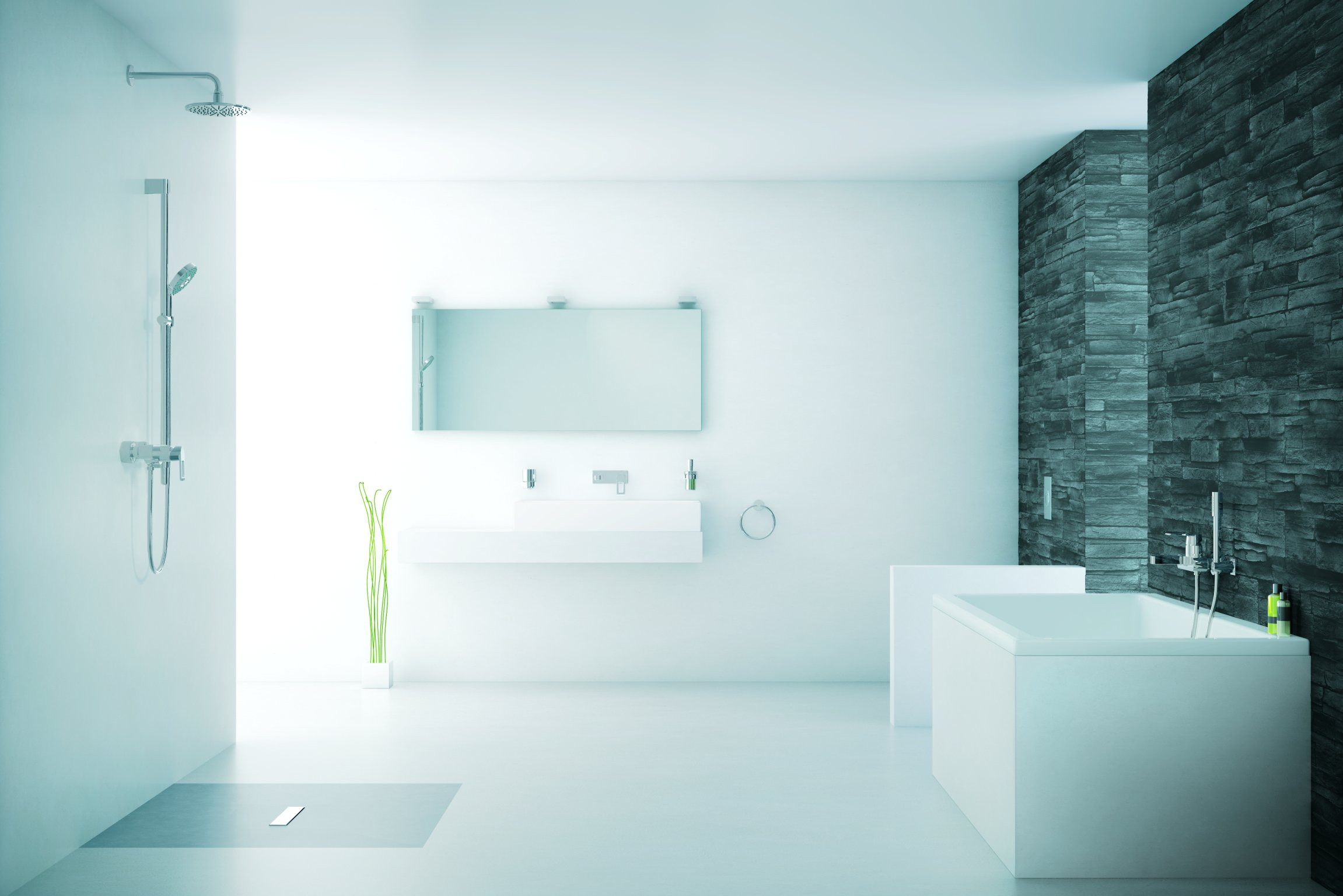 pflegeleicht und dekorativ: bodenbeläge für küche und bad | wohn ... - Böden Für Badezimmer